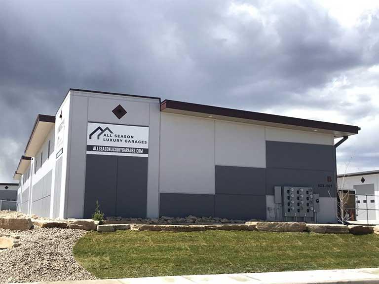 All Seasons Luxury Garages Loveland Storage Units