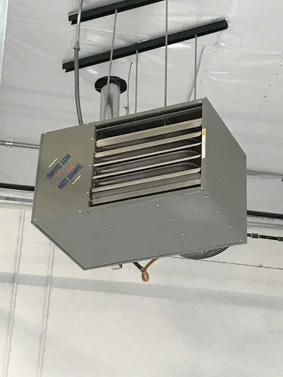 All Seasons Luxury Garages air conditioner